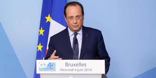 """France: Hollande assure vouloir """"accélérer les réformes"""" - La Libre"""