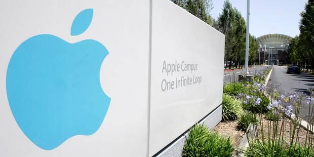 L'action Apple a atteint les 100 dollars - La Libre