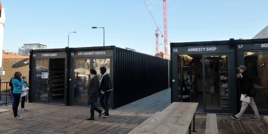 """@BoxPark, et le concept gagnant de """"pop-up mall"""" - La Libre"""