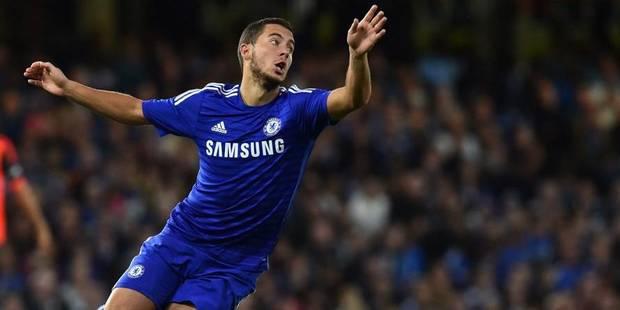 Belges à l'étranger : Hazard buteur et bel arrêt de Courtois avec Chelsea - La Libre