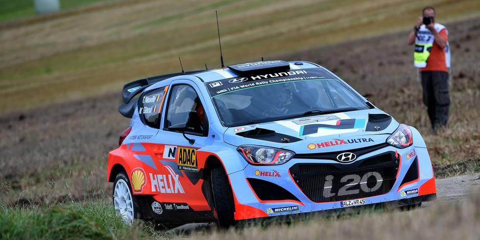 Thierry Neuville remporte le rallye d'Allemagne