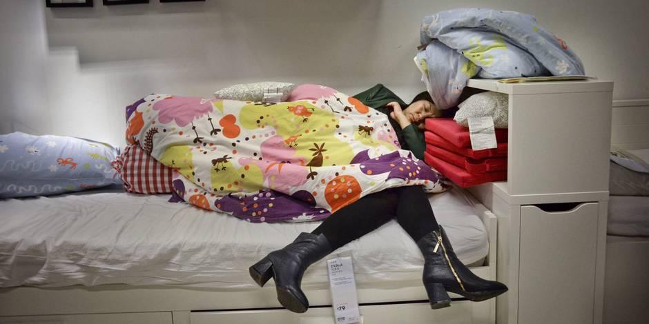 Envie de passer la nuit chez IKEA?