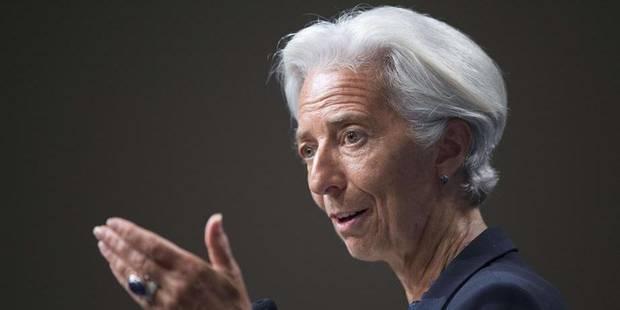 "Mise en examen de Lagarde: le FMI va se réunir ""dès que possible"" - La Libre"