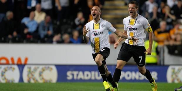 Europa League: Lokeren fait tomber Hull City malgré sa défaite (2-1) - La Libre