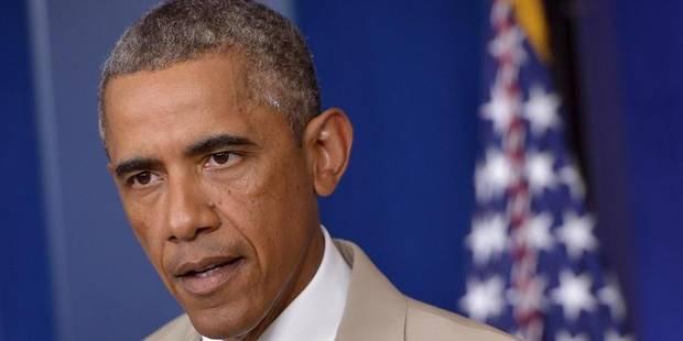 """Obama : """"Le monde entier peut voir que les forces russes sont en Ukraine"""" - La Libre"""