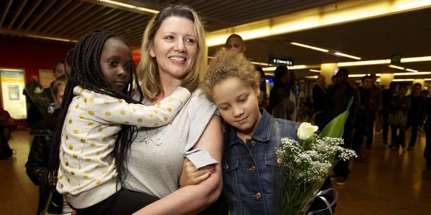 Une Belge de retour après avoir été retenue 4 mois et demi au Congo - La Libre