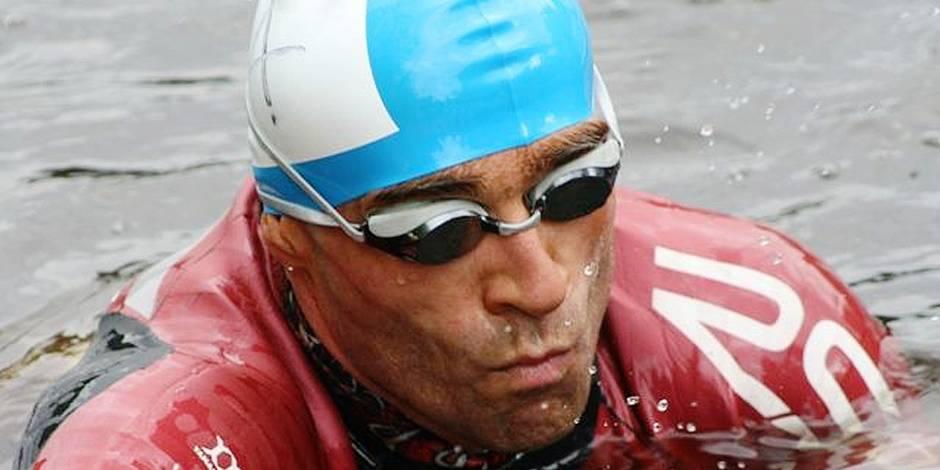 Triathlon: l'incroyable défi de Ghislain Maréchal