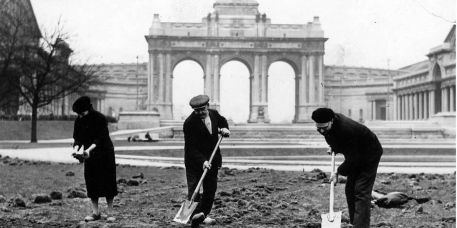 En 1940, Bruxelles se nourrit comme elle peut - La Libre