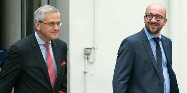 Charles Michel pourrait devenir Premier ministre suite au renoncement de Peeters - La Libre