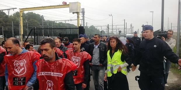 Un piquet de grève à 10 000 € par jour - La Libre