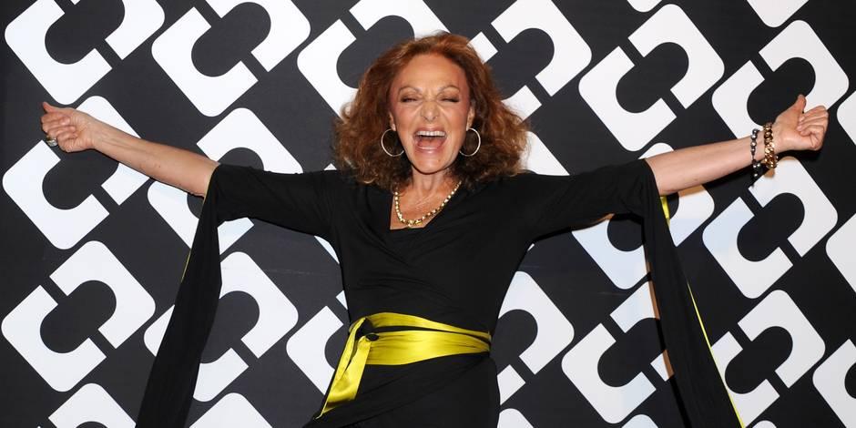 """Diane von Furstenberg : """"Tout est possible"""" à la semaine de la mode de New York"""