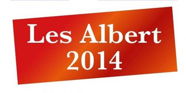 Découvrez tous les résultats des Albert 2014 - La Libre
