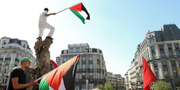 Manifestation pro-palestinienne à Bruxelles pour la levée du blocus sur Gaza - La Libre