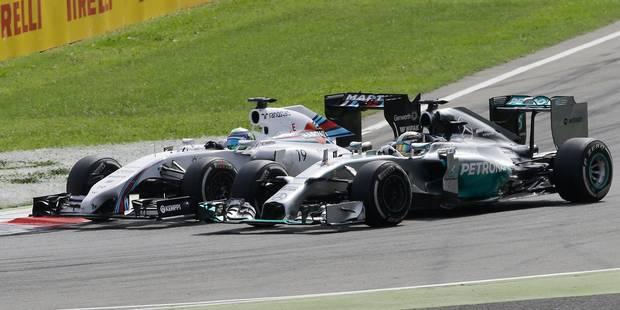 GP d'Italie: Hamilton s'impose devant Rosberg - La Libre