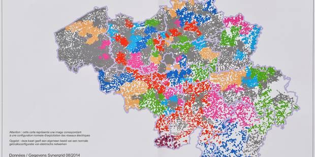 Electricité: le plan de délestage déséquilibré entre la Flandre et la Wallonie (INFOGRAPHIE) - La Libre