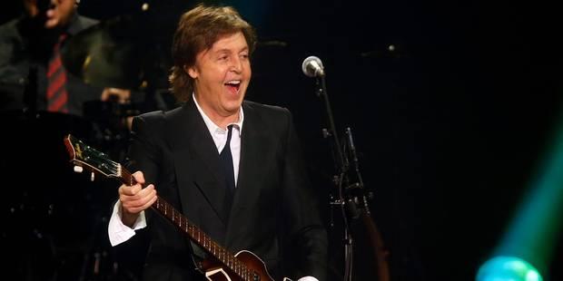 Des géants de la musique se regroupent pour interpréter Paul McCartney - La Libre