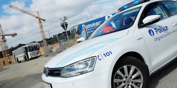 Louvain-la-Neuve: descente de police au Park & Ride - La Libre