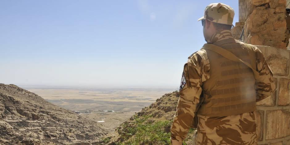 Irak: une petite milice chrétienne défend son village et son monastère - La Libre