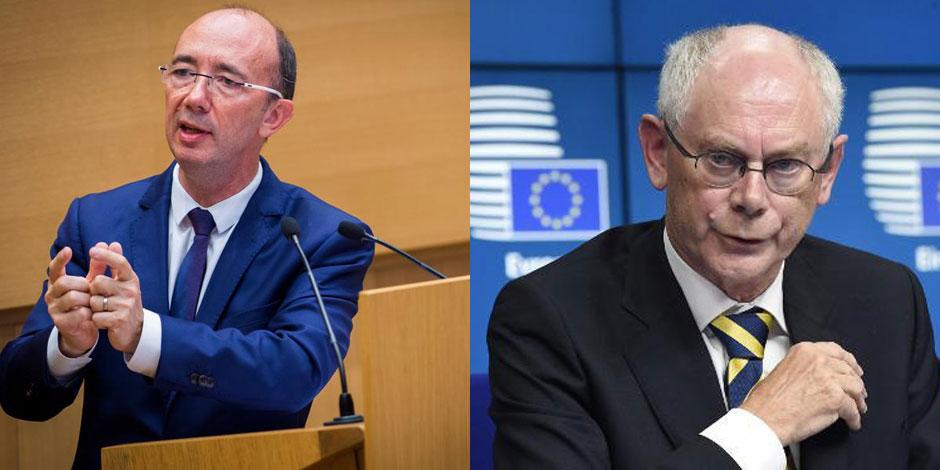 """Demotte et Van Rompuy """"profs"""" à l'UCL"""