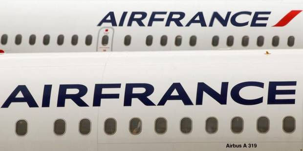 Grève à Air France: 1 vol sur 2 annulé lundi - La Libre