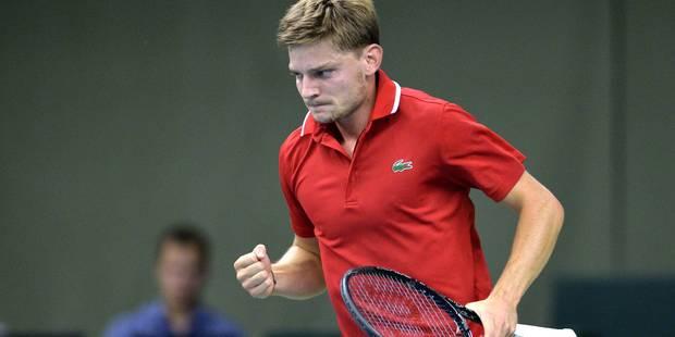 Coupe Davis: Goffin ramène la Belgique dans le Groupe mondial (6-3, 6-1, 6-2) - La Libre