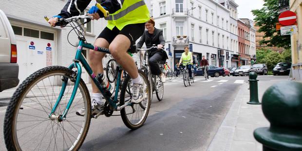 Une semaine axée sur le vélo à Bruxelles - La Libre