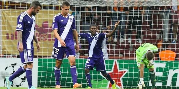 Anderlecht quitte Istanbul plein de regrets (1-1) - La Libre