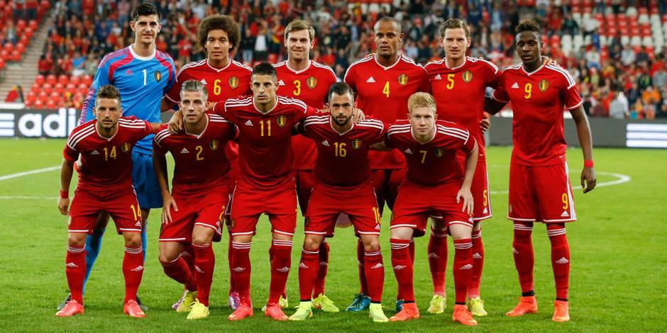 La Belgique toujours à la 5e place du classement FIFA