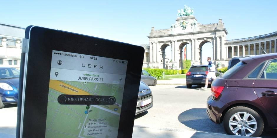 Uber passe le cap des 10.000 clients belges - La Libre