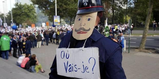 Grève des agents de police ce mardi, une première depuis 2001 - La Libre