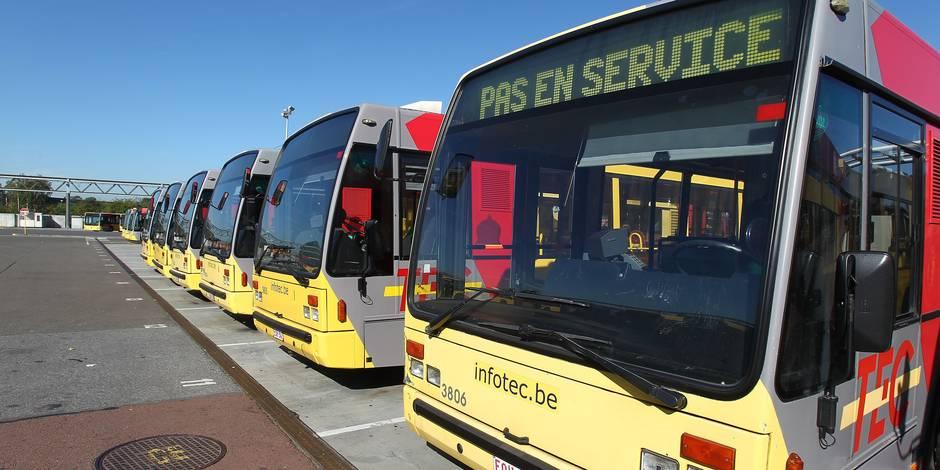Tous les bus du TEC seront équipés de caméras de surveillance en 2017