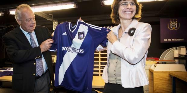 Un nouveau logo pour Anderlecht en Ligue des champions - La Libre