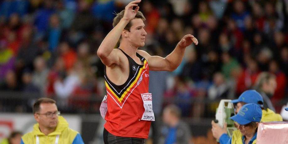 Le décathlonien Thomas Van der Plaetsen testé positif à l'hormone HCG