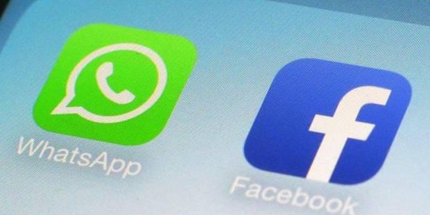 Facebook, avec 19 milliards et le feu vert de Bruxelles, engloutit enfin Whatsapp - La Libre