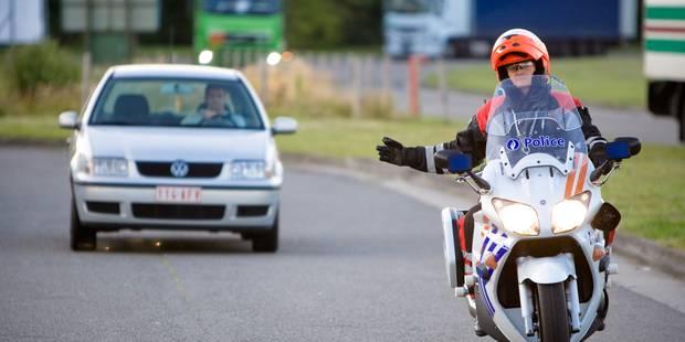 Brabant: la police fédérale de la route ne verbalise plus de nombreuses infractions - La Libre