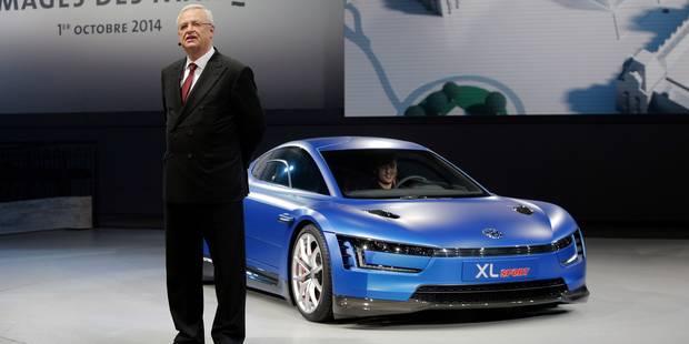 """CEO de VW: """" la réduction de chaque gramme de CO2 nous coûte 100 millions d'euros!"""" - La Libre"""