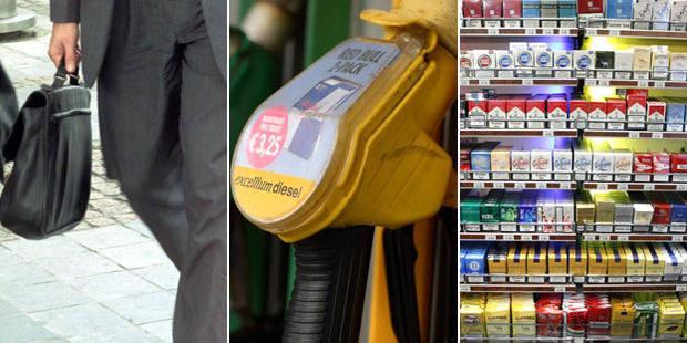 """Fonctionnaires, SNCB, tabac, diesel... Voici les dernières mesures connues de la """"suédoise"""" - La Libre"""