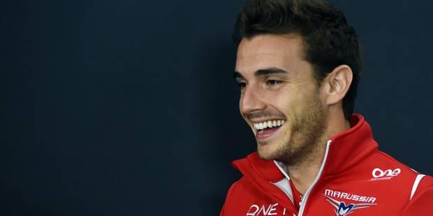 """Jules Bianchi """"se bat comme en course"""", assure son père - La Libre"""