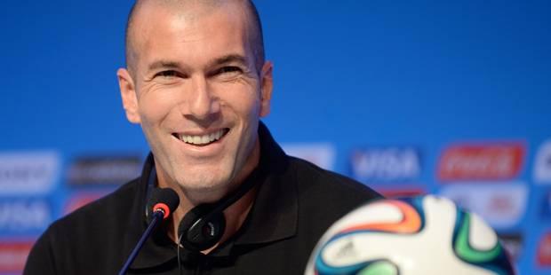 Zidane menacé de suspension pour... défaut de diplôme - La Libre