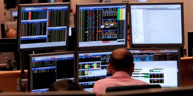 Les Bourses européennes plombées par la situation économique en Europe et Ebola - La Libre