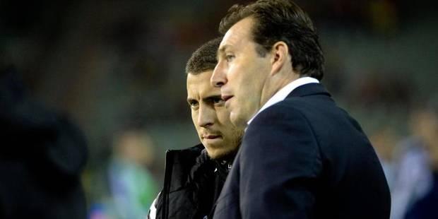 Marc Wilmots très inquiet pour Hazard - La Libre