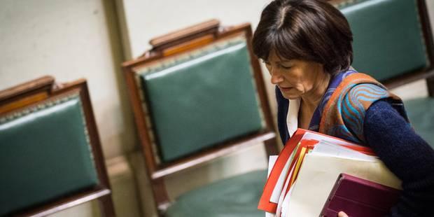 Onkelinx candidate à sa succession à la présidence de la fédération bruxelloise du PS - La Libre