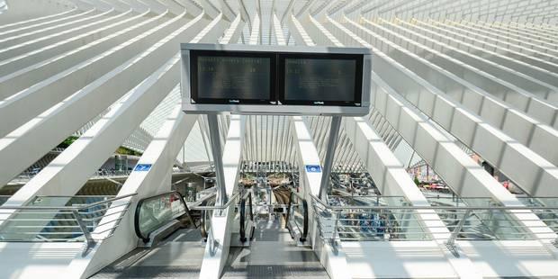 Grève SNCB: pas d'amélioration du trafic depuis Liège - La Libre