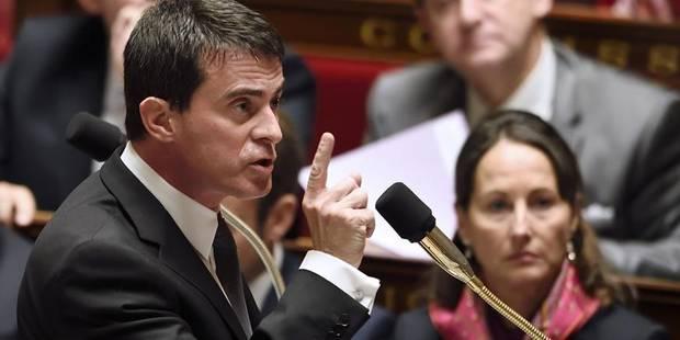 """France: Valls veut en finir avec la """"gauche passéiste"""" - La Libre"""