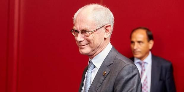 Le testament politique européen d'Herman Van Rompuy - La Libre