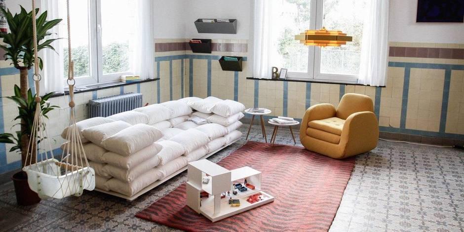 Faire le plein d'idées déco dans l'appartement de MAD Brussels