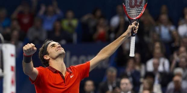 Bâle: Federer domine Goffin de bout en bout (6-2/6-2) - La Libre