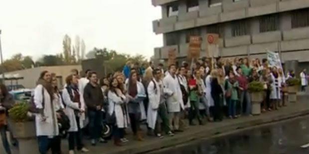 Numéro Inami: les étudiants grévistes montent au front - La Libre