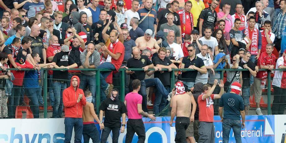 Un match à huis clos et 5000 euros d'amende pour le Standard