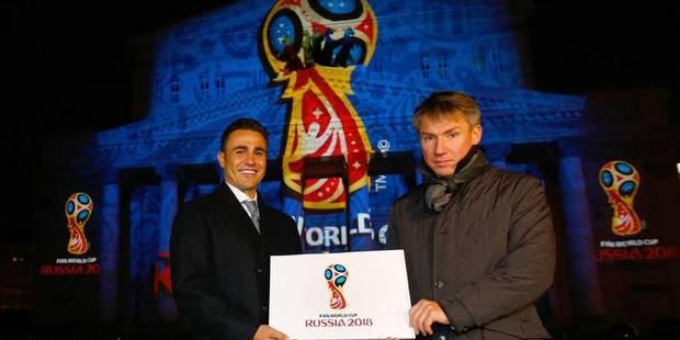 Voici le logo de la coupe du monde 2018 ! - La Libre